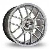 Konig Kilogram Silver Polished Alloy Wheels