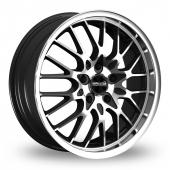 Maxxim Chance Black Polished Alloy Wheels