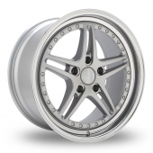 Privat Rivale Silver Alloy Wheels