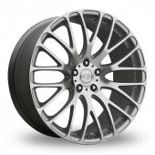 Privat Weiden Wider Rear Silver Polished Alloy Wheels