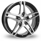 Dezent RB Black Polished Alloy Wheels