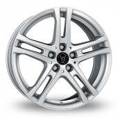 Wolfrace Bavaro Silver Alloy Wheels