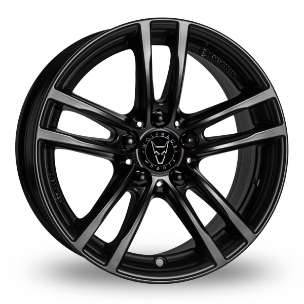 "Picture of 17"" Wolfrace X10 Black"