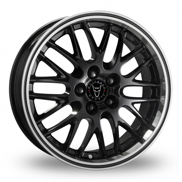 "Picture of 18"" Wolfrace Norano Black"