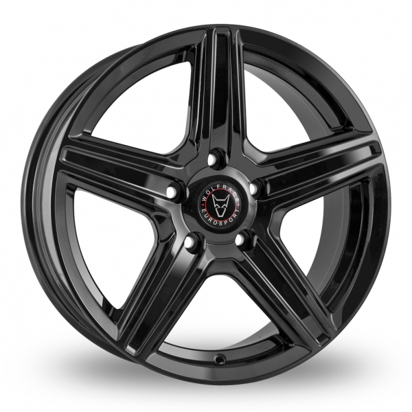 "Picture of 17"" Wolfrace Scorpio Black"