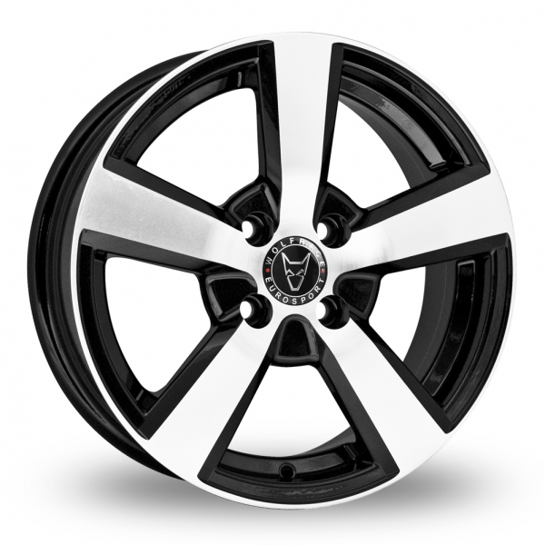 "Picture of 16"" Wolfrace Formula Black"