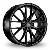 OZ Racing Italia 150 4 Stud Matt Black Alloy Wheels