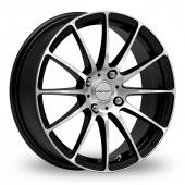 Inovit Force 4 Black Polished Alloy Wheels
