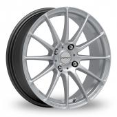 Inovit Force 4 Silver Alloy Wheels