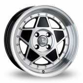 Junk Re'jekt Black Polished Alloy Wheels