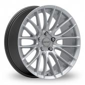 Inovit Sonic Hyper Silver Alloy Wheels