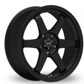 Inovit Asuka Racing ST16 Matt Black Alloy Wheels