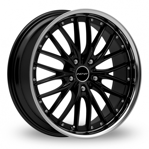 "Picture of 19"" Inovit Haste Black/Stainless Lip Wider Rear"