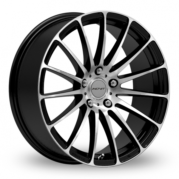 "Picture of 20"" Inovit Force 5 Black/Polished Wider Rear"