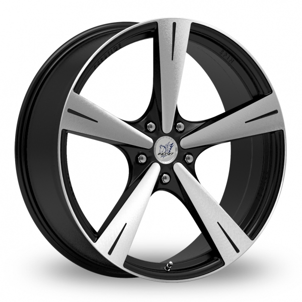 "Picture of 20"" Inovit Spin Black/Polished Wider Rear"