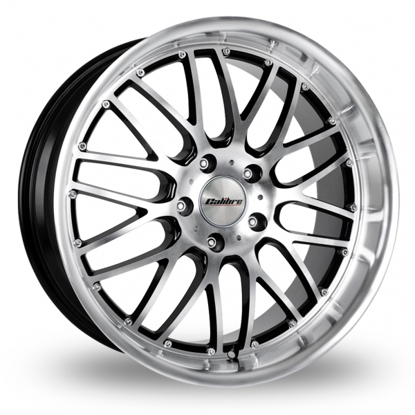 "Picture of 19"" Calibre Spur Black/Polished Wider Rear"