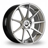 AVA San Diego Hyper Silver Alloy Wheels