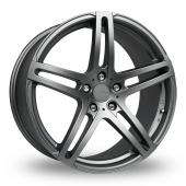 Fox Racing MS005 Grey Alloy Wheels