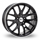 Zito ZL935 Black Polished Alloy Wheels