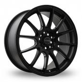 Dare DR-STR Matt Black Alloy Wheels