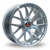 Axe CS Lite Silver Polished Alloy Wheels