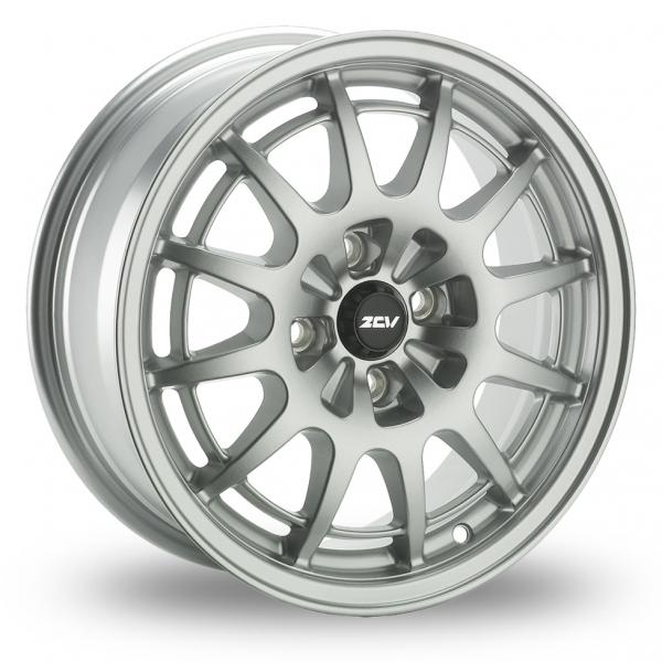 17 Inch ZCW Bolt Silver Alloy Wheels