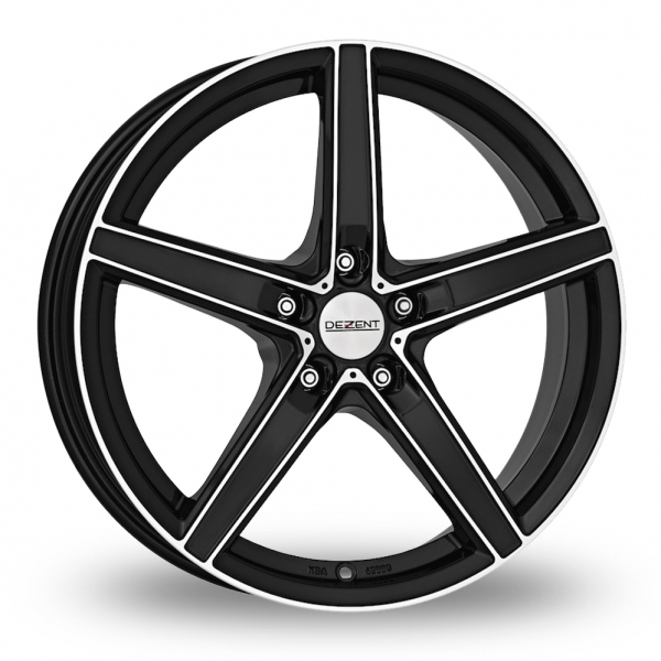"Picture of 17"" Dezent RN Black Polished"