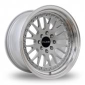 Dare DCC Silver Alloy Wheels