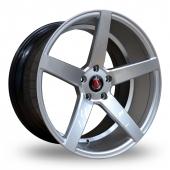 Axe EX18 Hyper Silver Alloy Wheels