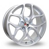 XTK KD008 Silver Alloy Wheels