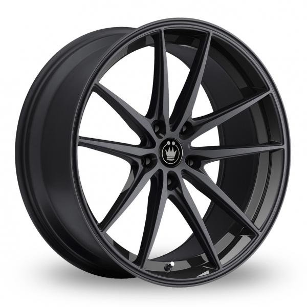 Konig Oversteer Black 18 Quot Alloy Wheels Wheelbase