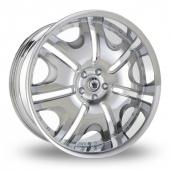Konig Blix 1 Chrome Alloy Wheels