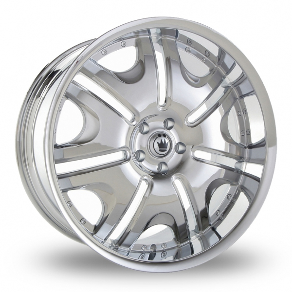 "Picture of 20"" Konig Blix 1 Chrome"