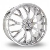 Konig Blix 3 Chrome Alloy Wheels