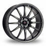 17 Inch Team Dynamics Pro Race 1 2 Anthracite Alloy Wheels