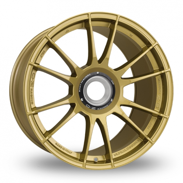 "Picture of 20"" OZ Racing Ultraleggera HLT CL Race Gold Wider Rear"