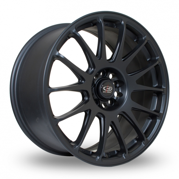 "Picture of 18"" Rota Reeve Black Wider Rear"