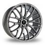 19 Inch River R-10 Matt Gun Metal Alloy Wheels