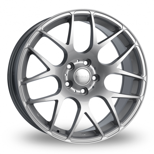 "19"" Romac Radium Silver Alloy Wheels"