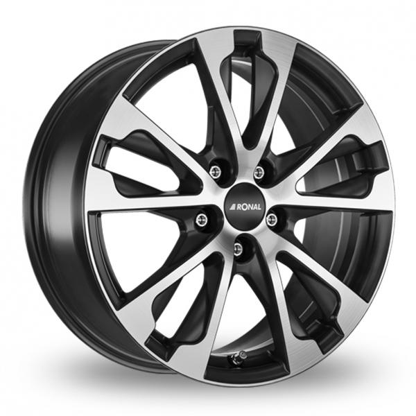 Ronal R61 Black Polished