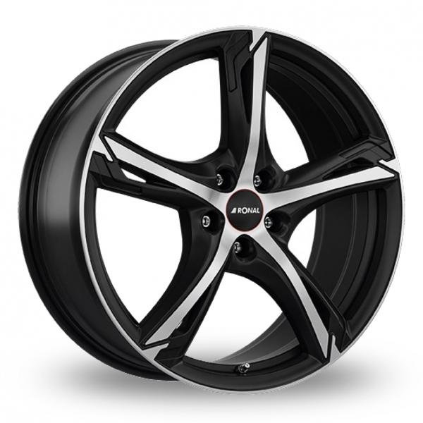 Ronal R62 Black Polished