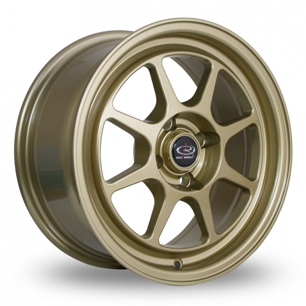 "Picture of 15"" Rota Spec8 Gold"