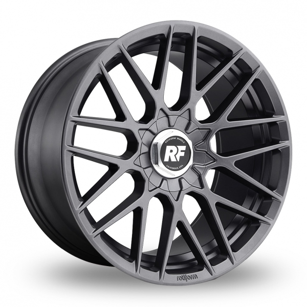 "Picture of 20"" Rotiform RSE Matt Anthracite"