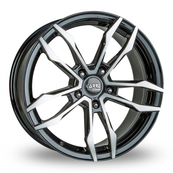 "Picture of 18"" Carre VT5 Black/Polished"