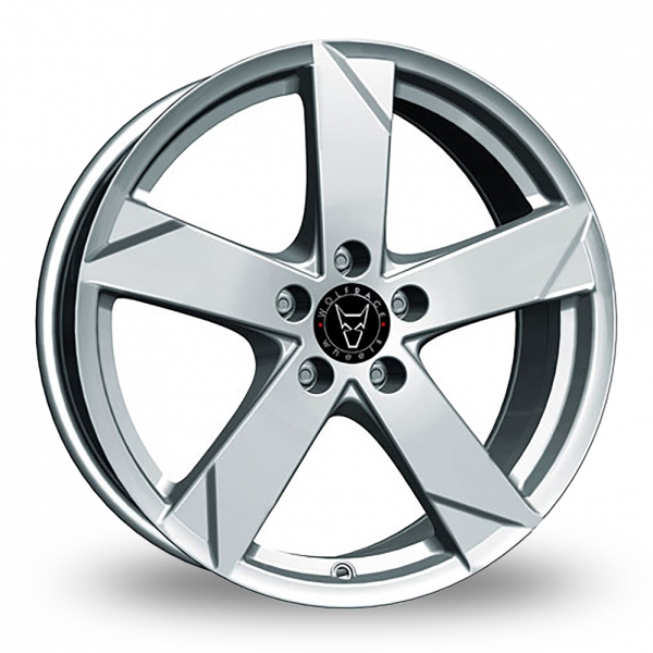 15 Inch Wolfrace Kodiak Polar Silver Alloy Wheels